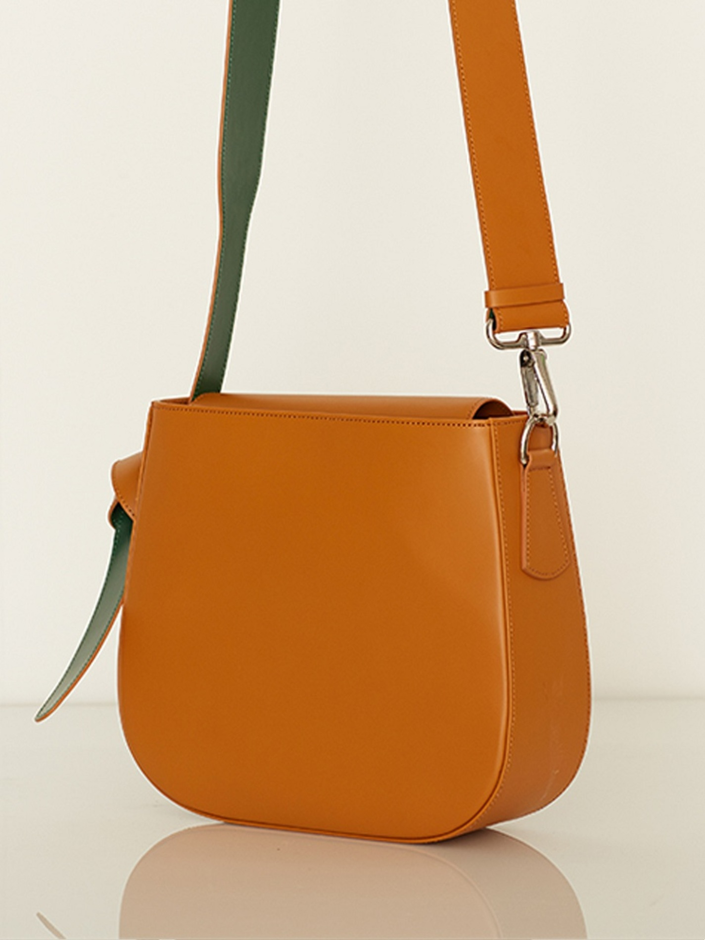 COLOR BLOCK BAG - BIG CAMEL