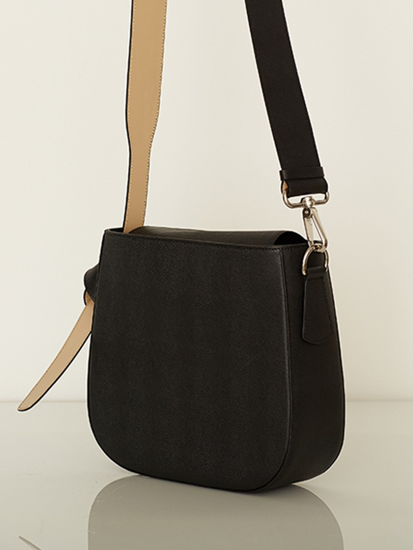 COLOR BLOCK BAG - BIG BLACK