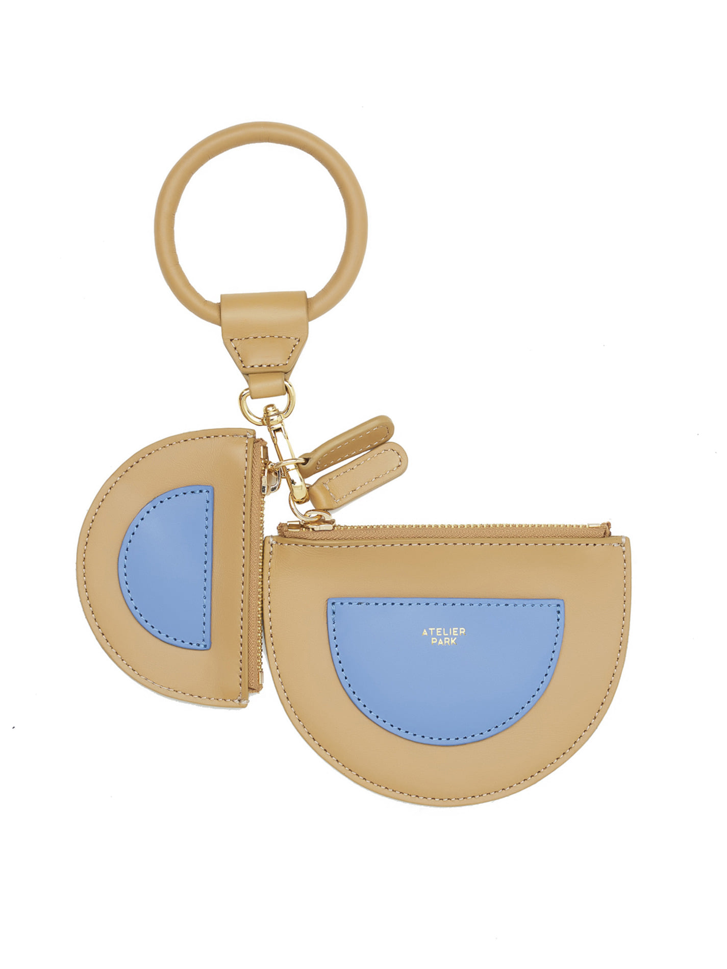 TWIN PURSE _BEIGE