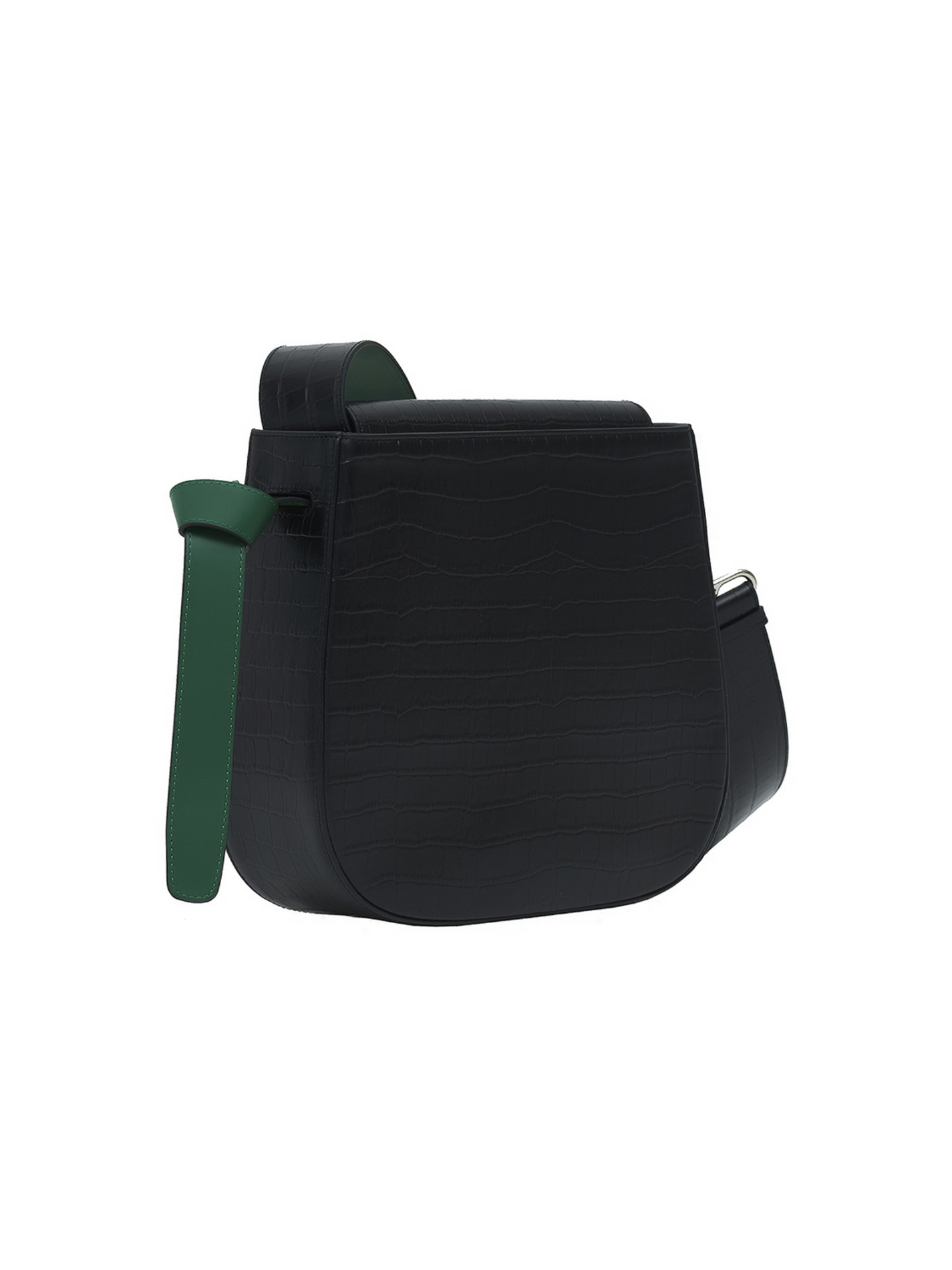 COLOR BLOCK BAG -BIG WANI BLACK  [Summer Sale -50%]