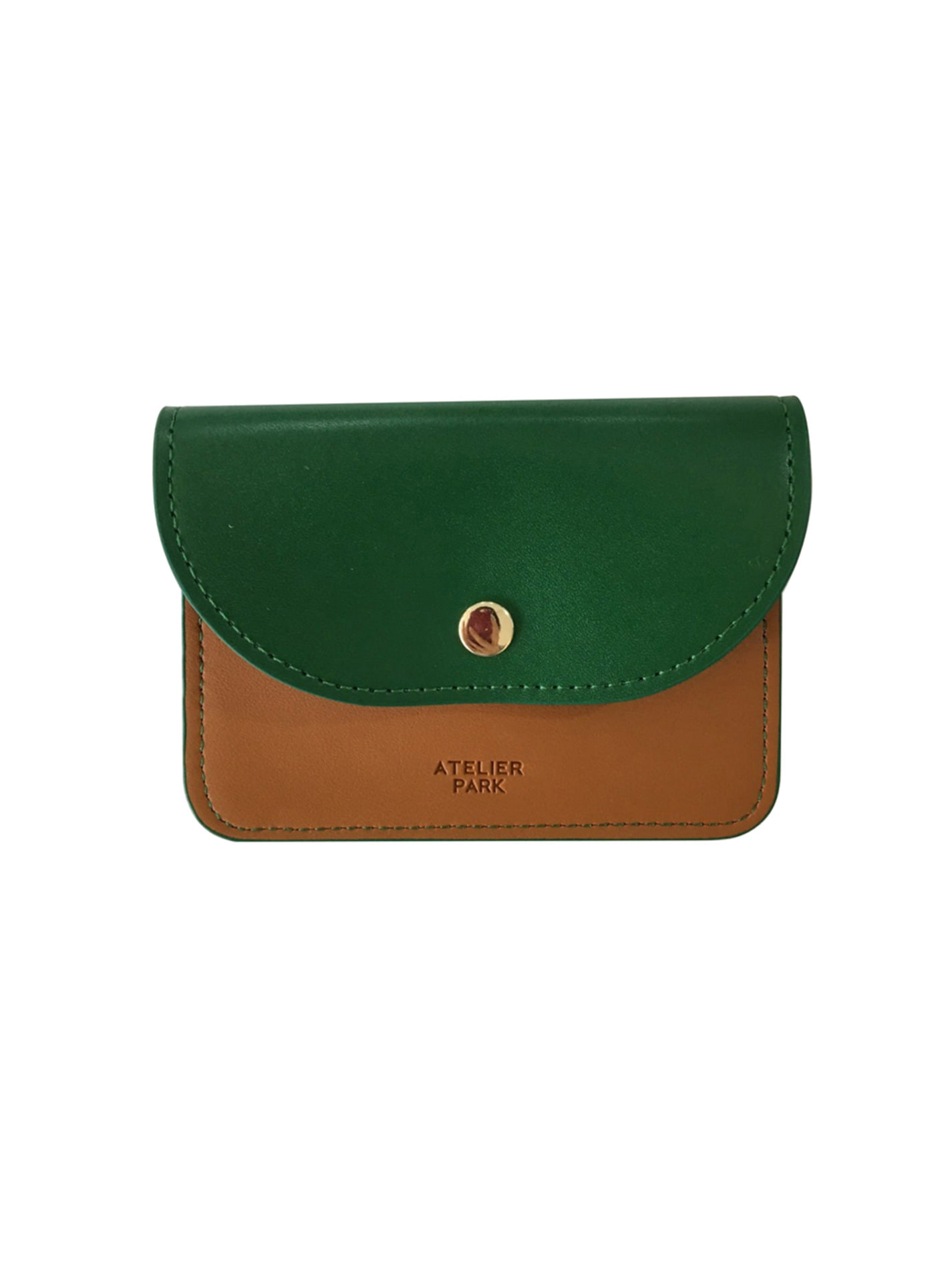 EASY WALLET_ CAMEL GREEN