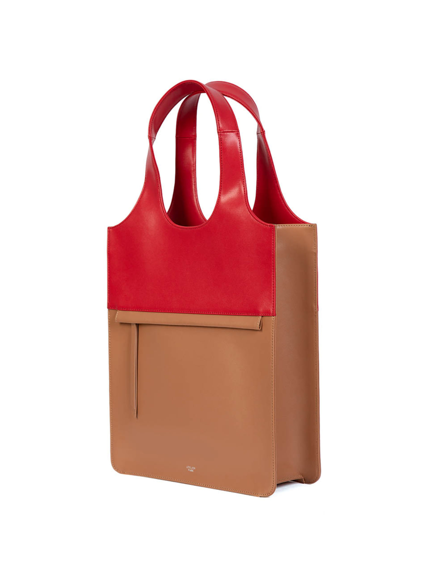 LINE TOTE BAG - BIG BEIGE