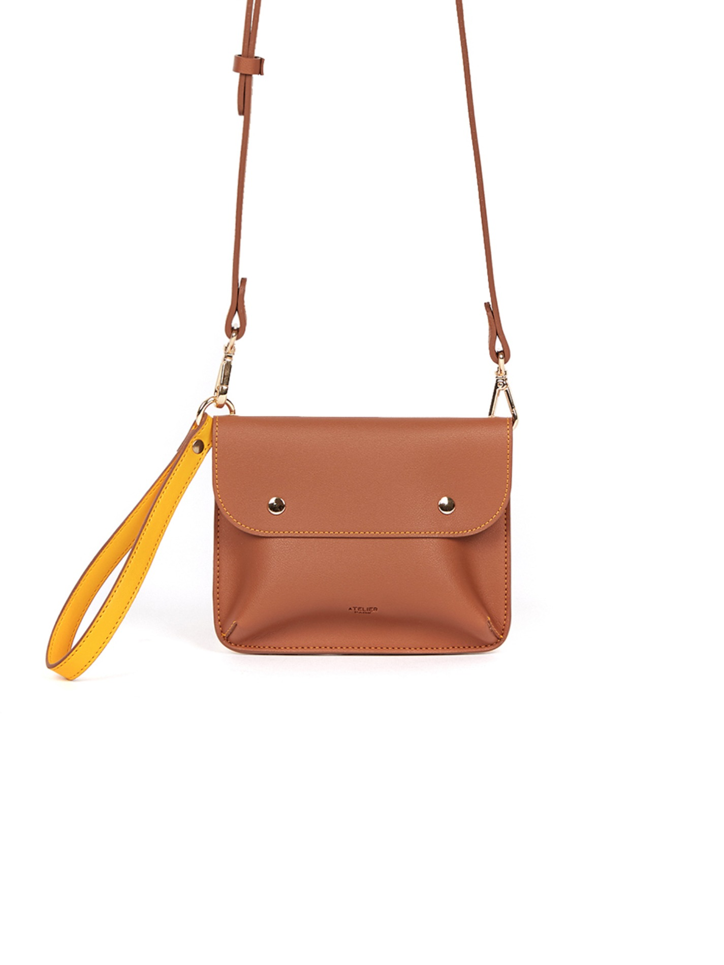 DOUBLE SIDE BAG_CAMEL_8월17일 순차출고
