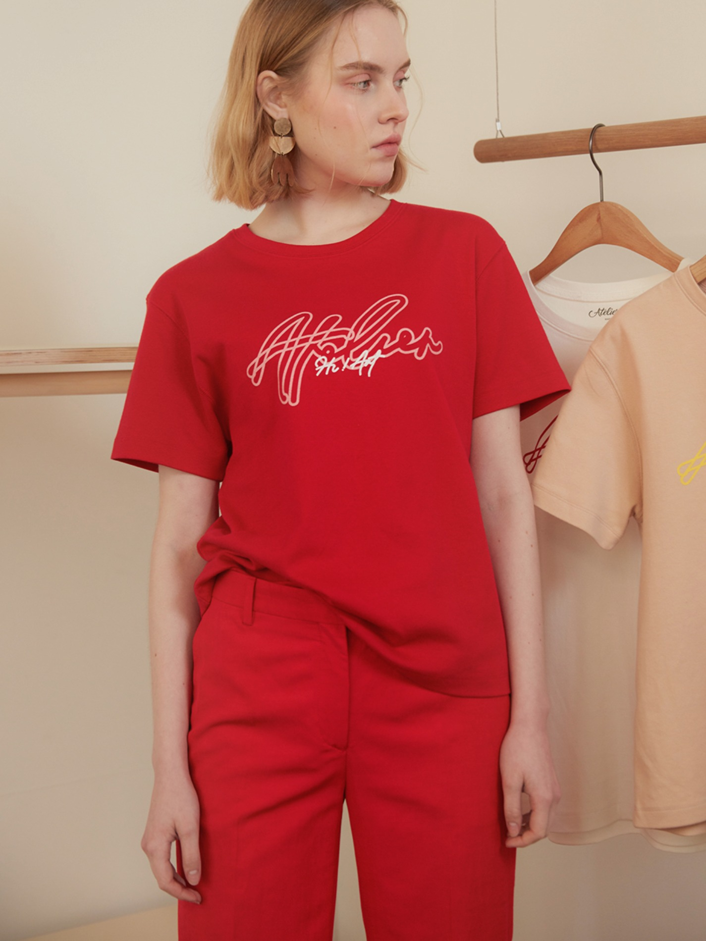 Hi Art T-Shirt Red