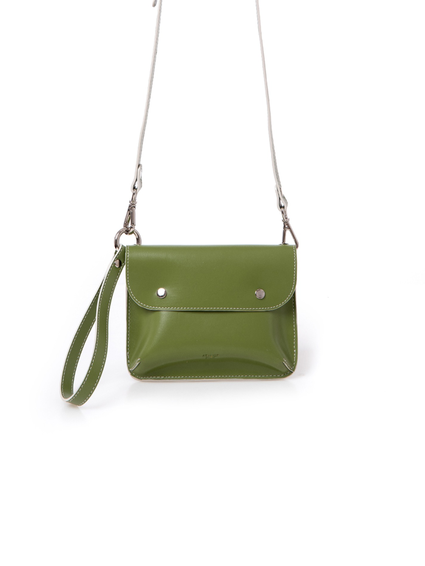 DOUBLE SIDE BAG_OLIVE GREEN/BEIGE