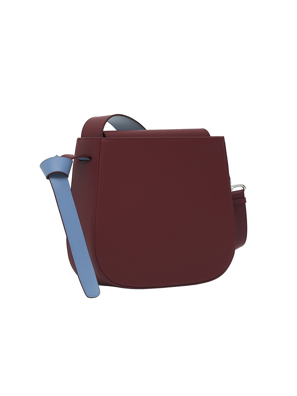 COLOR BLOCK BAG - BIG BURGANDY