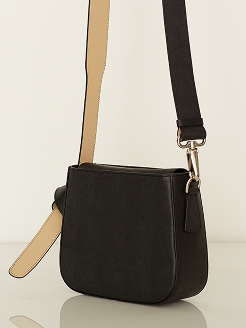 COLOR BLOCK BAG - MINI BLACK