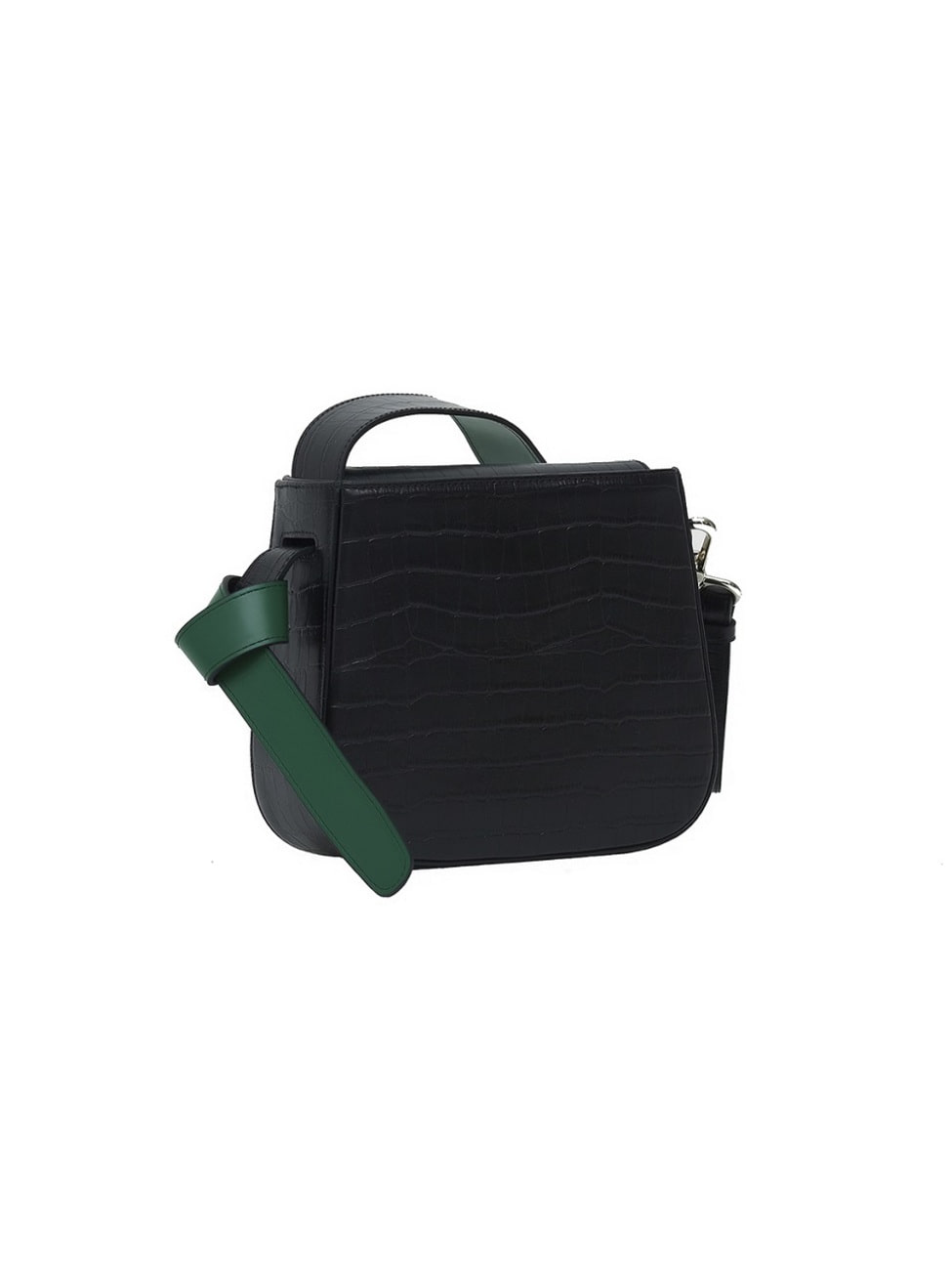 COLOR BLOCK BAG - MINI WANI BLACK