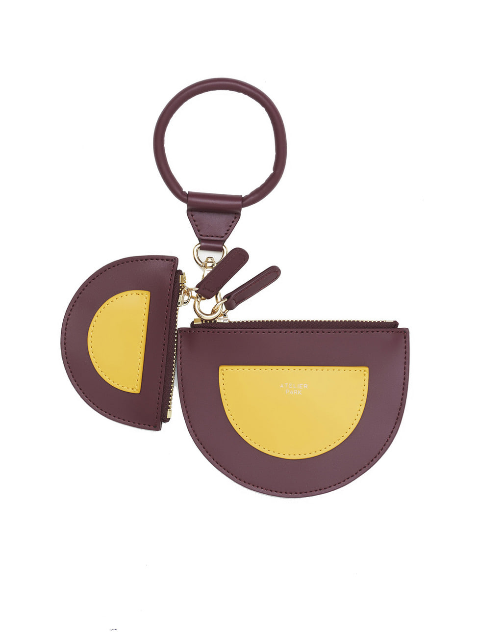 TWIN PURSE _PURPLE