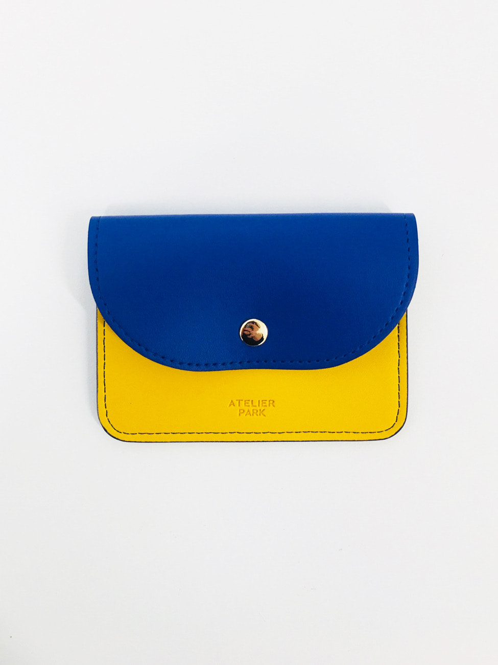 EASY WALLET _BLUE / YELLOW