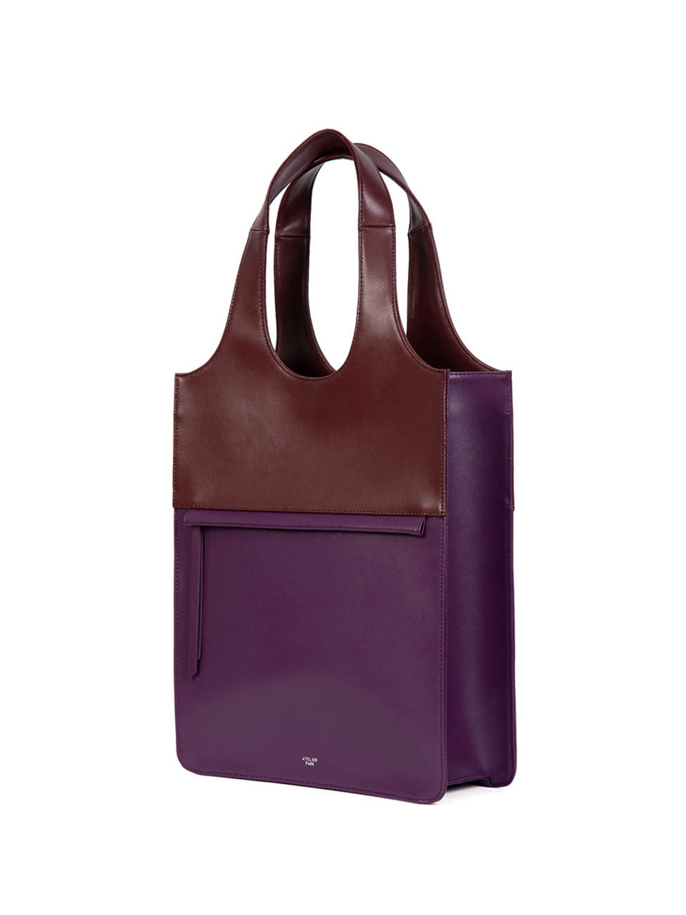 LINE TOTE BAG - BIG PURPLE
