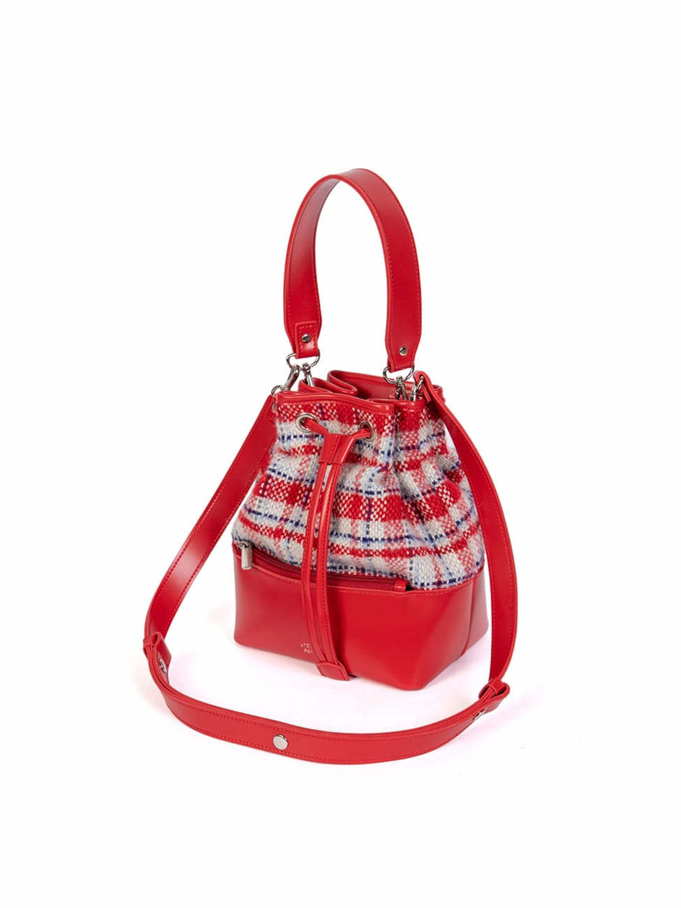 GEO BUCKET BAG _ RED