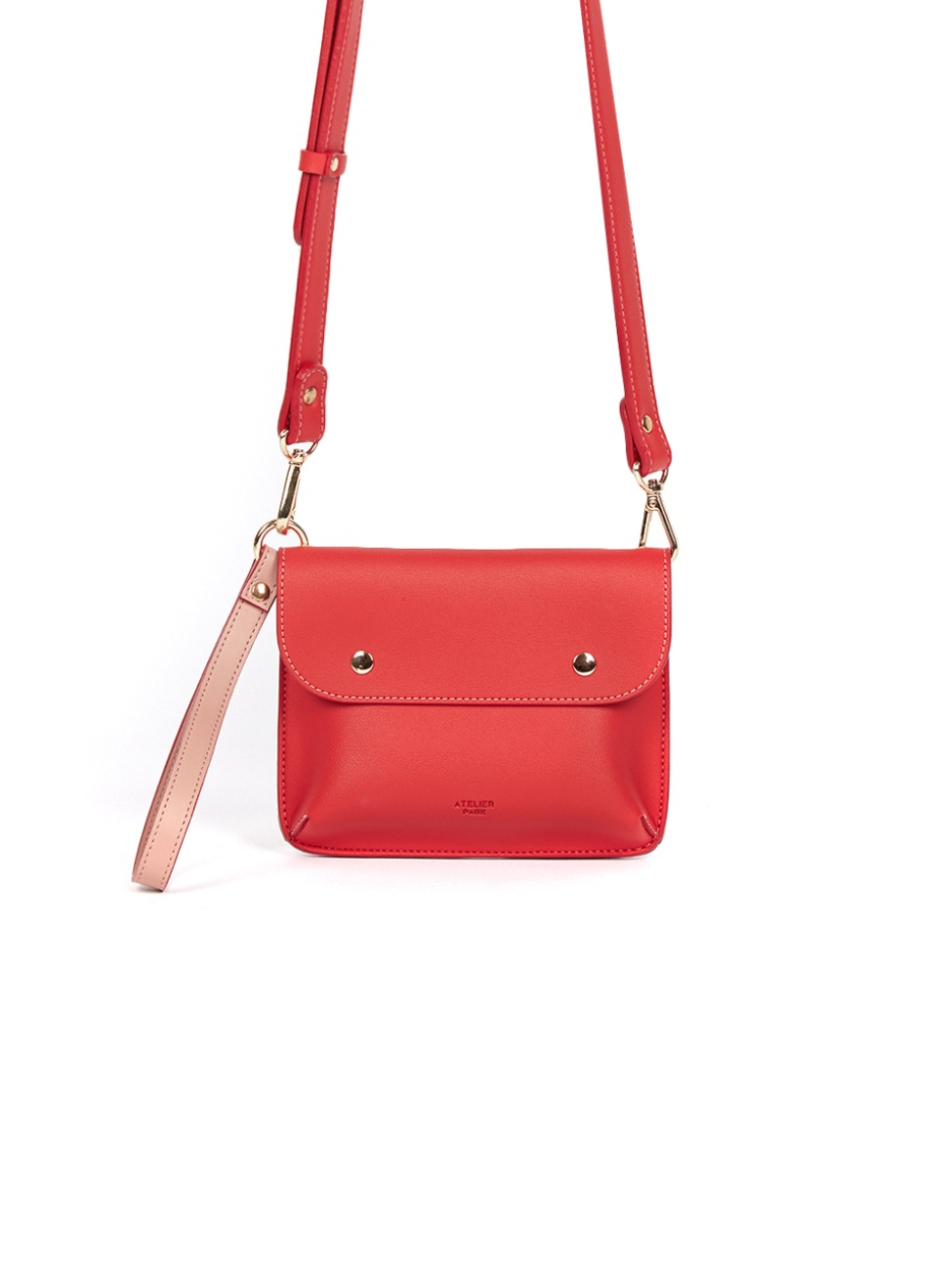 DOUBLE SIDE BAG_RED_8월17일 순차출고