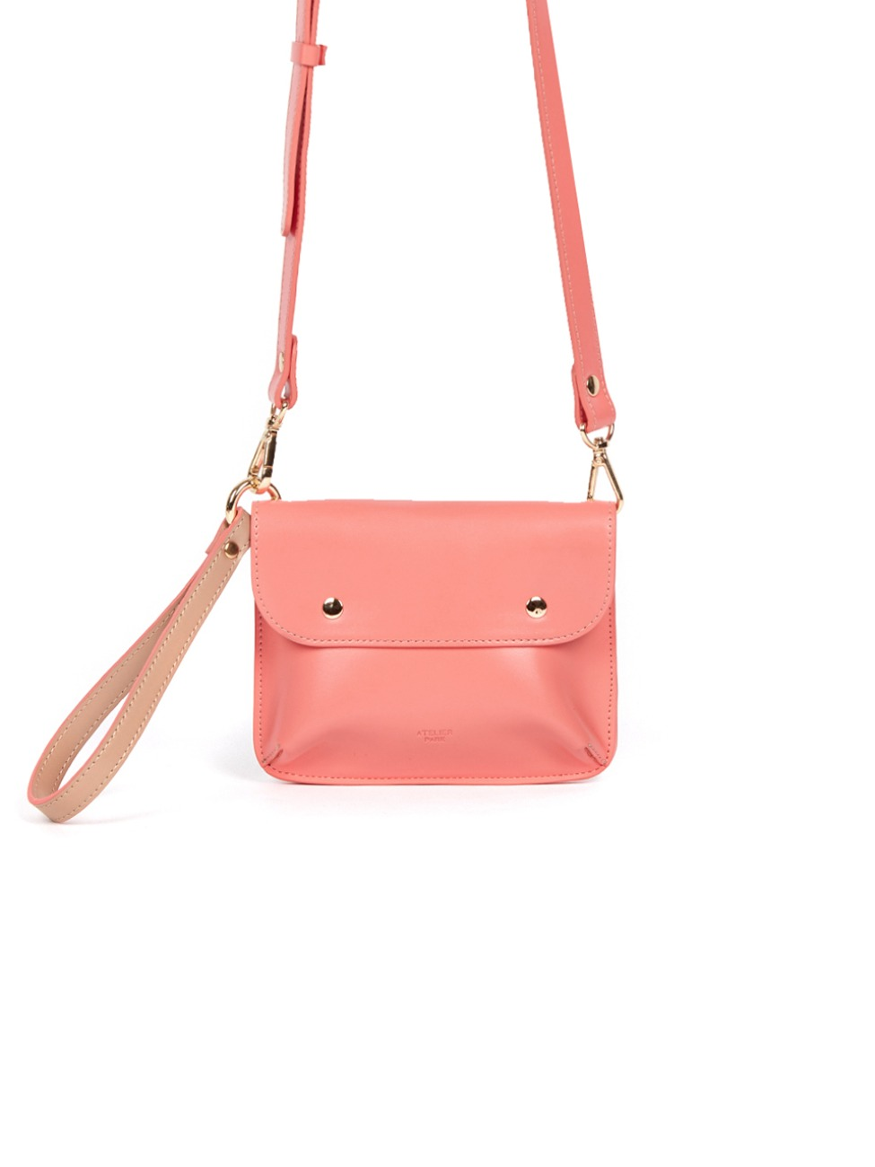 DOUBLE SIDE BAG_CORAL  [Summer Sale -25%]
