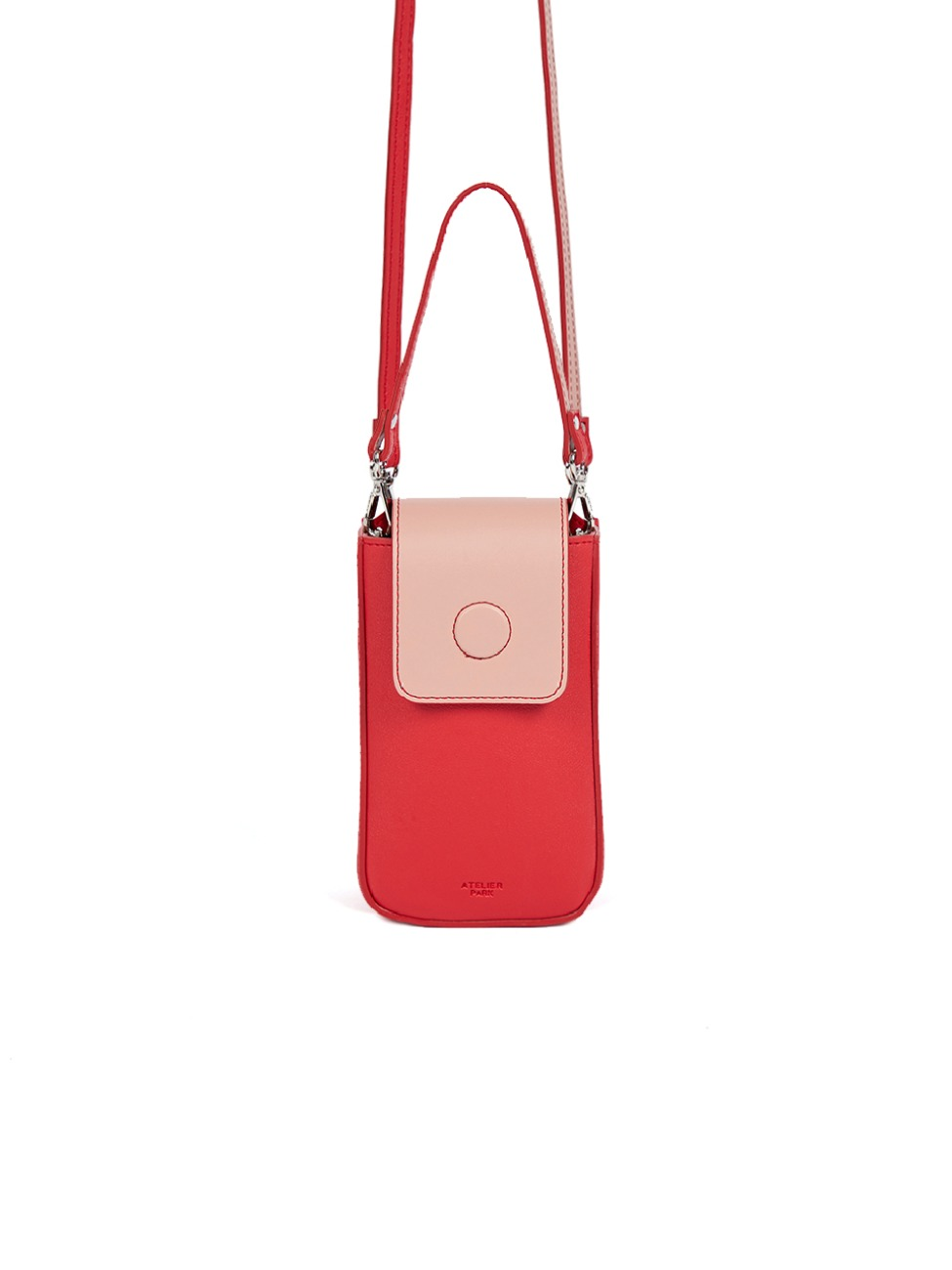 [재입고 미정] BLOCK NANO BAG_ RED