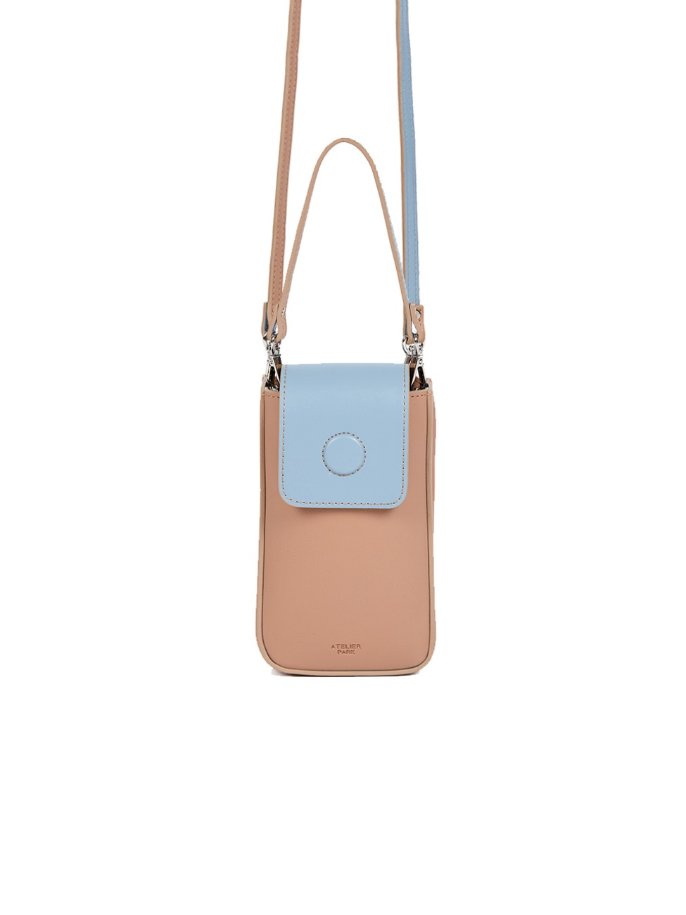BLOCK NANO BAG_ BEIGE