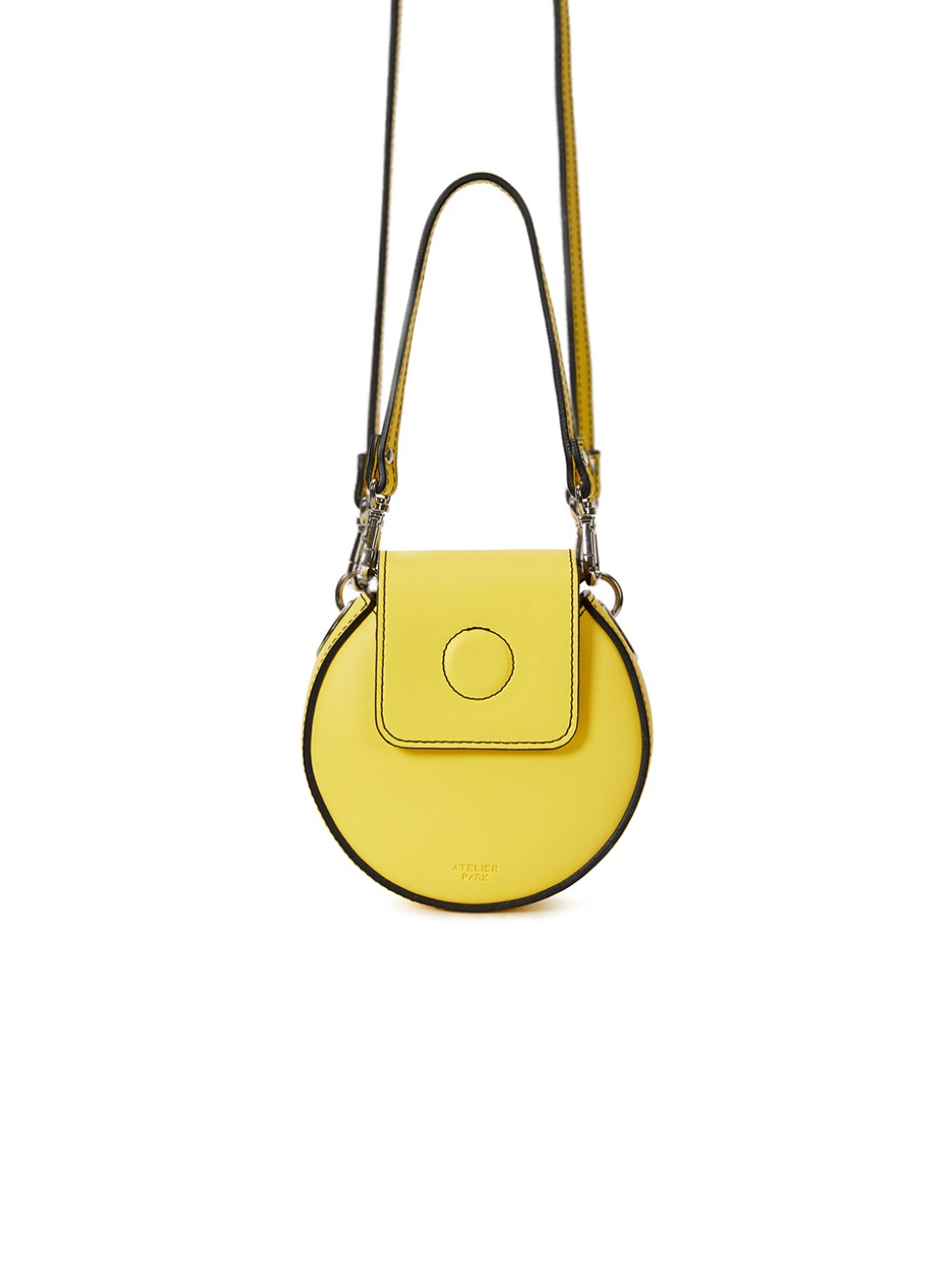 NANO CIRCLE BAG _ LEMON YELLOW