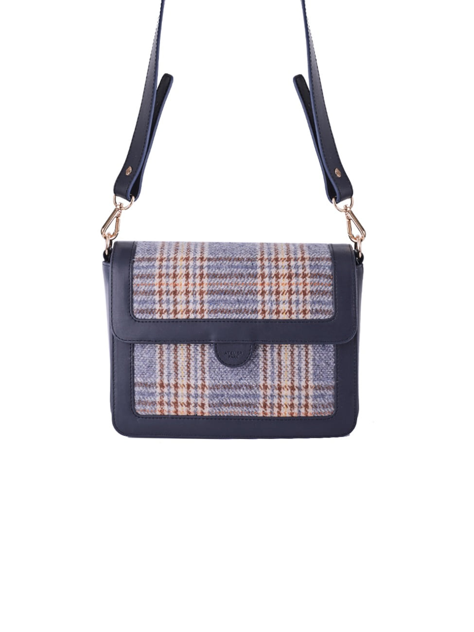 GEO CHECK BAG_NAVY