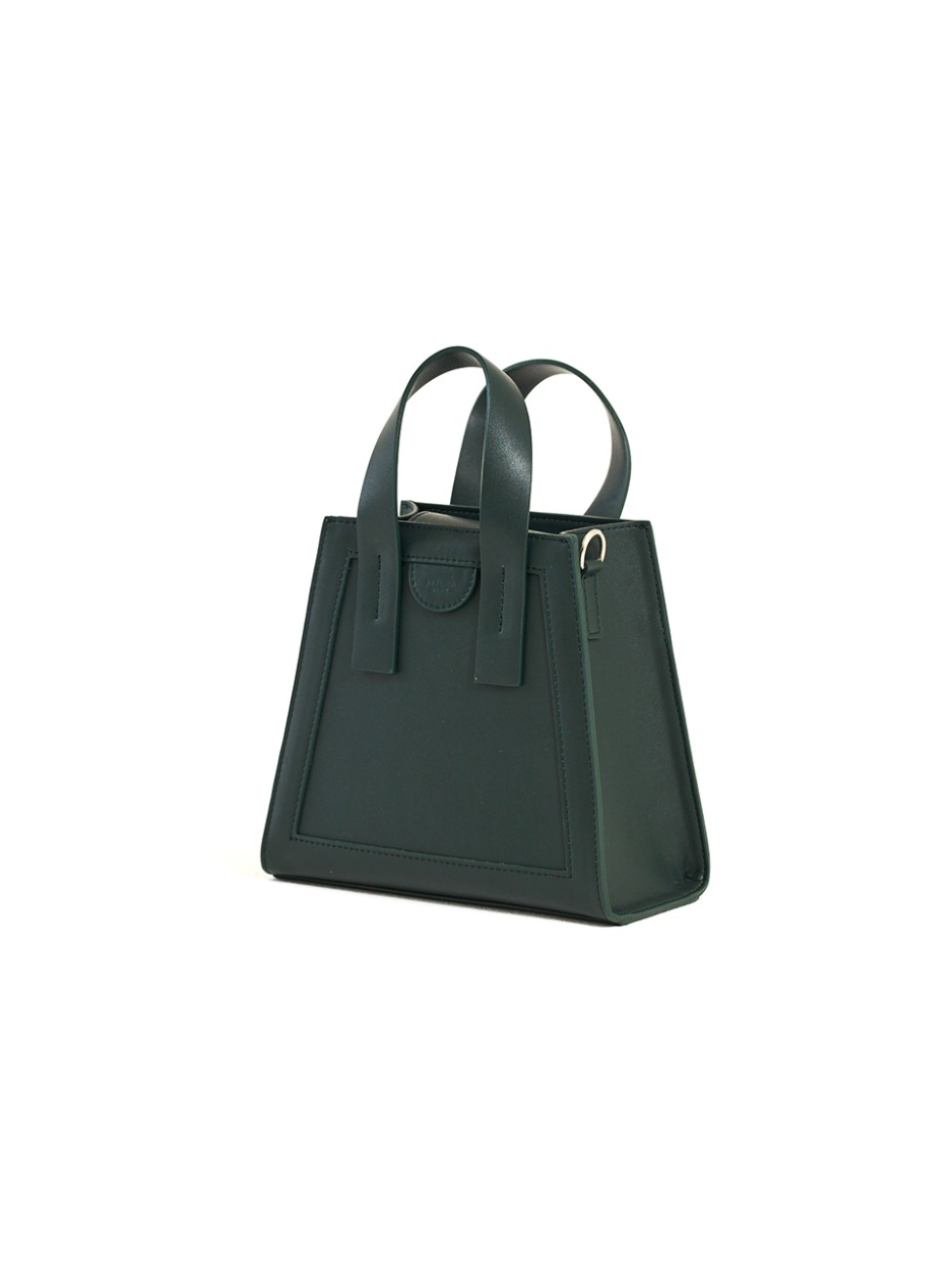 GEO BAG_MINI_DEEP GREEN