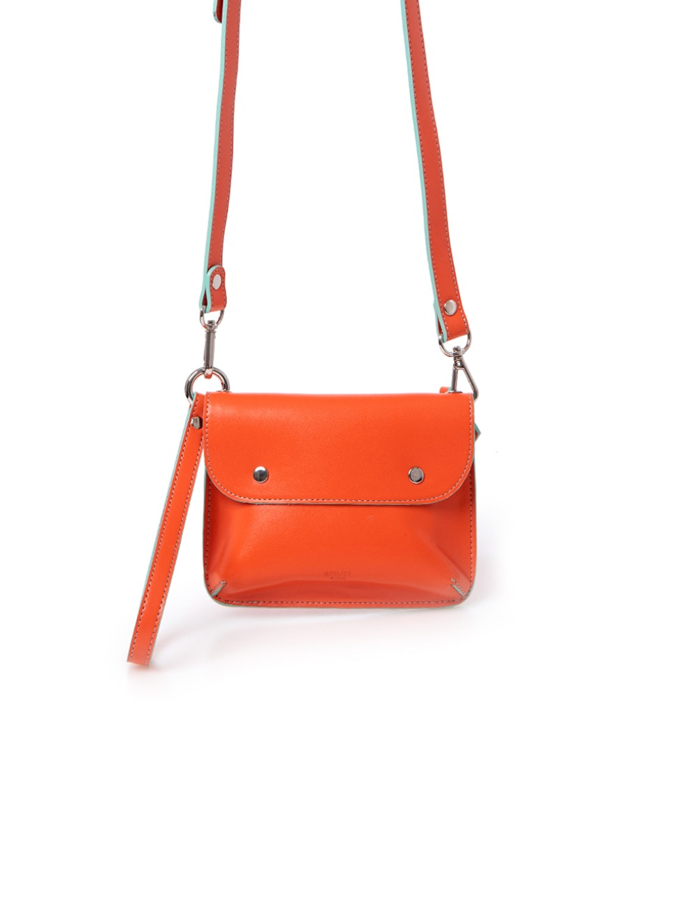DOUBLE SIDE BAG_ORANGE/MINT