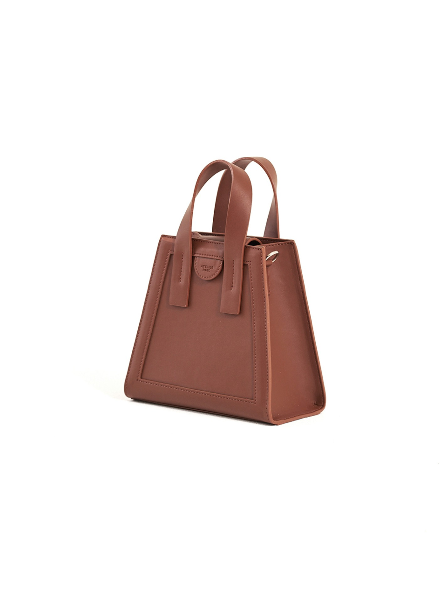 GEO BAG_MINI_BROWN