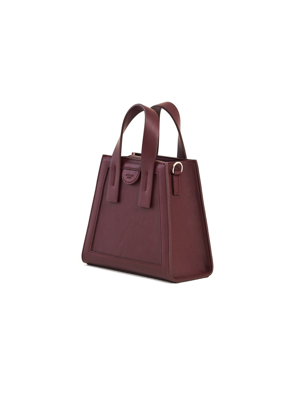 GEO BAG_MINI_BURGUNDY